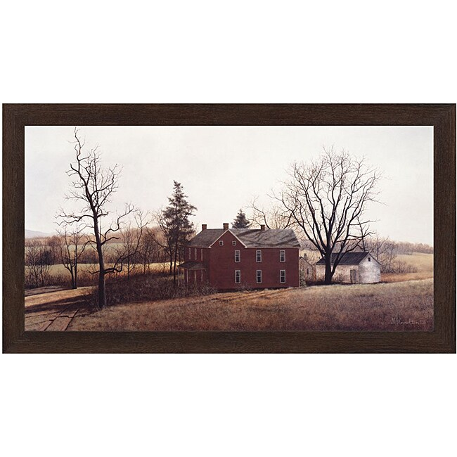 David Knowlton 'Long Shadows' Framed Art