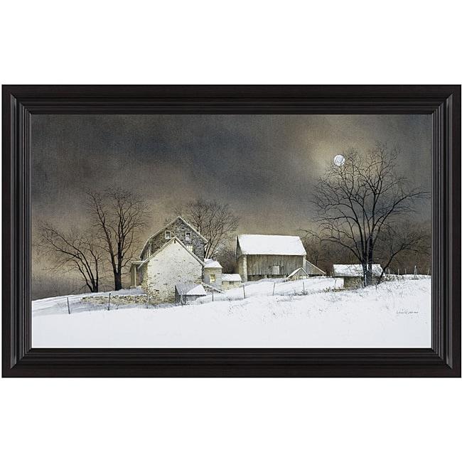 Ray Hendershot 'New Moon' Framed Print