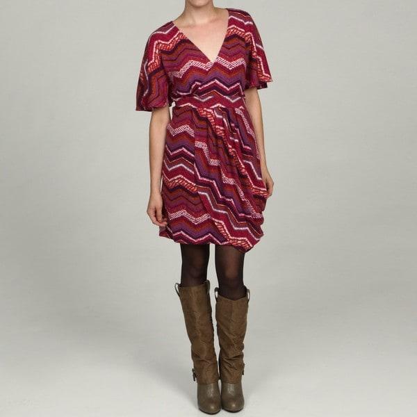 Jonathan Martin Women's Berry Dolman Sleeve Belted Dress FINAL SALE
