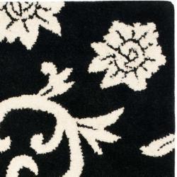 Safavieh Handmade Soho Sillo Black New Zealand Wool Rug (2' x 3') - Thumbnail 1