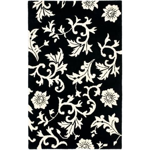 Safavieh Handmade Soho Nollag Floral Vines N.Z. Wool Rug