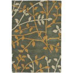 Safavieh Handmade Soho Moments Grey New Zealand Wool Rug (2' x 3')