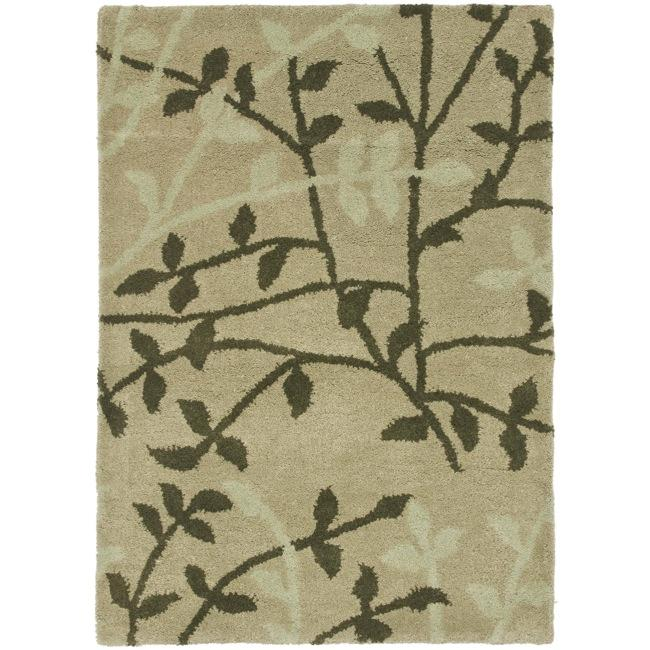 Safavieh Handmade Soho Moments Green New Zealand Wool Rug (2' x 3')