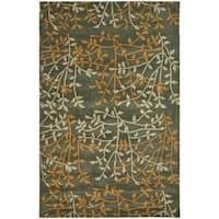 Safavieh Handmade Soho Moments Grey New Zealand Wool Rug - 5' x 8'