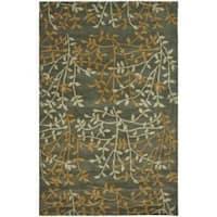 "Safavieh Handmade Soho Moments Grey New Zealand Wool Rug - 7'6"" x 9'6"""