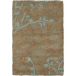 Safavieh Handmade Soho Moments Light Brown New Zealand Wool Rug (2' x 3')