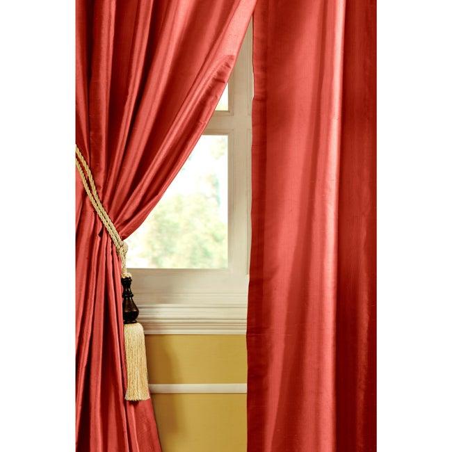 Riva Dupioni Silk 84-inch Curtain Panel