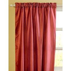 Riva Dupioni Silk 84-inch Curtain Panel - Thumbnail 1
