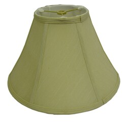 Round Beige Silk Lamp Shade