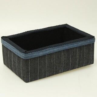 Suzy's Denim Medium Storage Box
