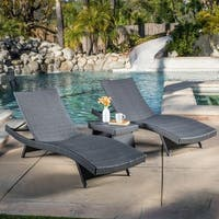 Havenside Home Vilano 3-piece Outdoor Lounge Set