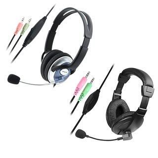INSTEN Handsfree Headset with Microphone for VOIP/ SKYPE (2 options available)