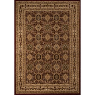 Westminster Tabriz Red Panel Area Rug (11'3 x 15')