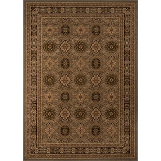 "Westminster Tabriz Slate Panel Power-Loomed Rug (11'3"" x 15')"