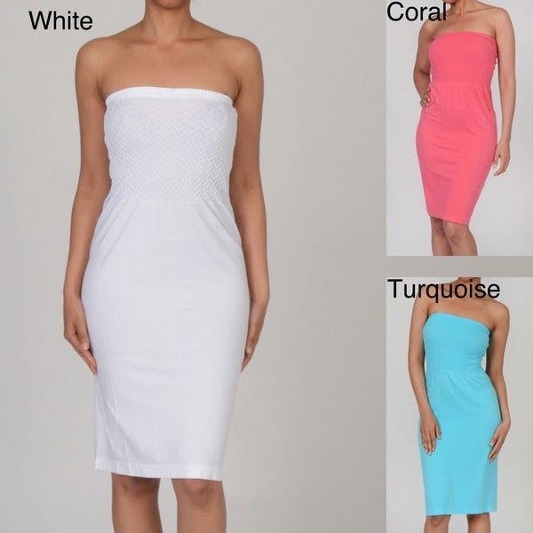Shop Water Water by Elan Women s Strapless Dress - Free Shipping On ... 9107e2ea822f