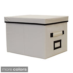 decorative file box free shipping on orders over 45 overstockcom 13698009 - Decorative File Boxes