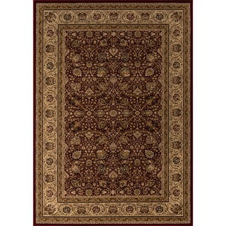 "Westminster Kashan Red Power-Loomed Rug (3'3"" x 5')"