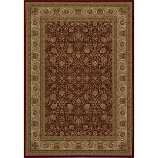 "Westminster Kashan Red Power-Loomed Rug (3'11"" x 5'7"")"