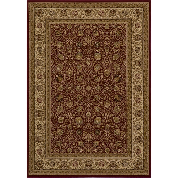 Westminster Kashan Red Area Rug (3'11 x 5'7)