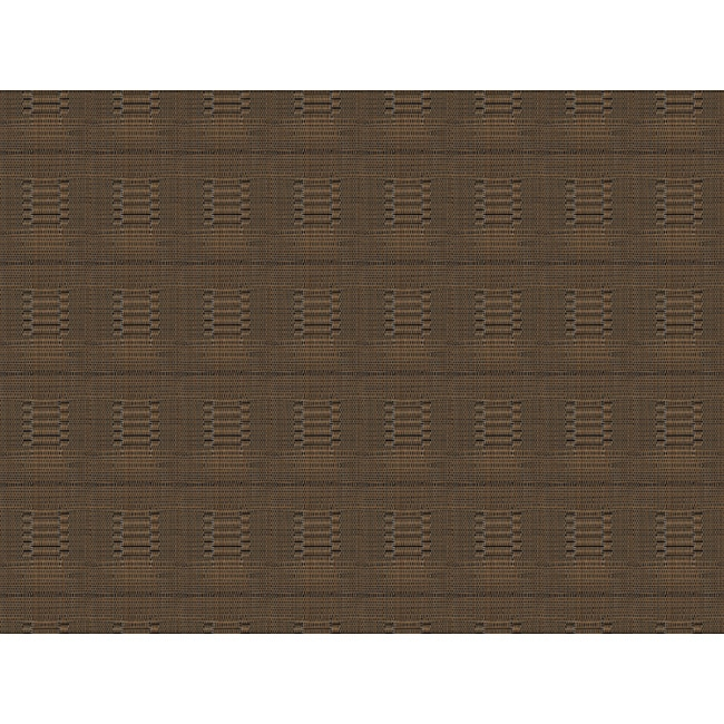 Dark Brown Bamboo Woven Placemats (Pack of 12)