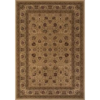 Westminster Kashan Ivory Area Rug (7'10 x10'10)
