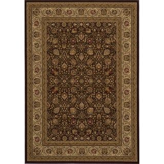 "Westminster Kashan Ivory Power-Loomed Rug (11'3"" x 15')"