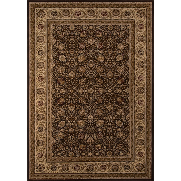 Westminster Kashan Brown Area Rug (9'10 x 13'6)