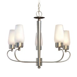 Woodbridge Lighting Soho 5-light Satin Nickel Chandelier