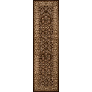 Westminster Kashan Brown Area Rug (2'3 x 7'10)