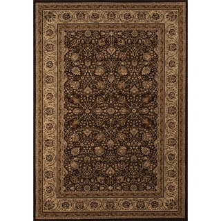 Westminster Kashan Brown Area Rug (7'10 x10'10)