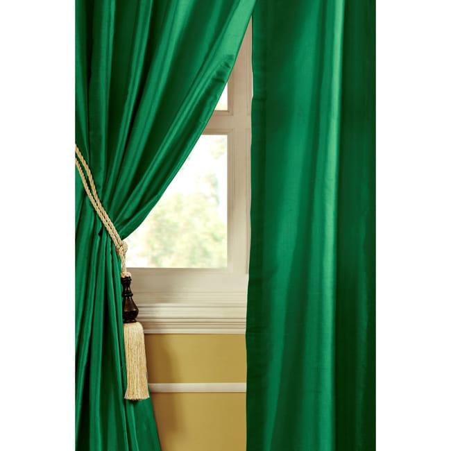 Mardi Dupioni Silk 96-inch Curtain Panel