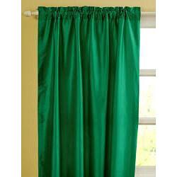 Mardi Dupioni Silk 96-inch Curtain Panel - Thumbnail 1