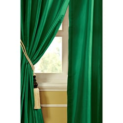 Mardi Dupioni Silk 96-inch Curtain Panel