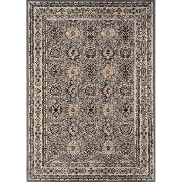 Westminster Tabriz anel Power-loomed Rug (7'10 x 10'10)