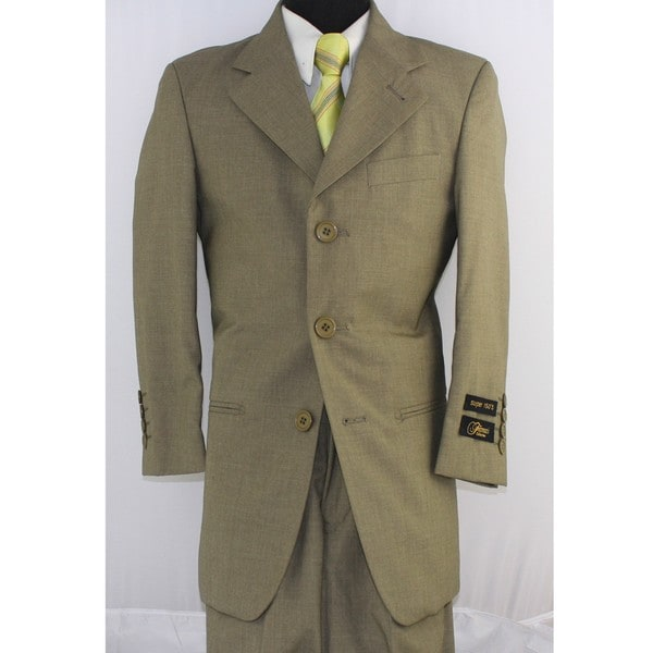 Ferrecci Boy's 2-piece Sand 3-button Suit