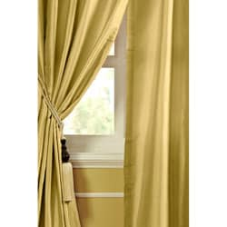 Geneva Dupioni Silk 96-inch Curtain Panel