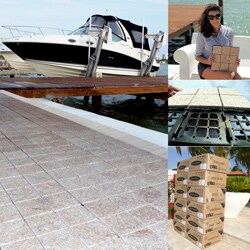 Jointstone Interlocking Granite Decktiles, Box of 6 Tiles to cover 6sf. Perfect For Outdoor and Indoor Use. - Thumbnail 2
