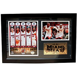 2011 Miami Heat Photo Frame - Thumbnail 0
