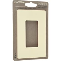Lutron Claro Almond Single-gang Rocker Wallplates (Set of 8)