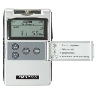 EMS 7500 Second Edition Digital EMS Muscle Stimulation Unit|https://ak1.ostkcdn.com/images/products/6014768/P13698844.jpg?impolicy=medium