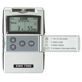 EMS 7500 Second Edition Digital EMS Muscle Stimulation Unit