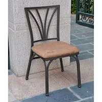 International Caravan Santa Fe Iron Dining Chair (Set of 2)