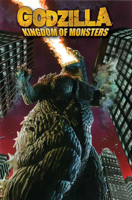 Godzilla 1: Kingdom of Monsters (Paperback)