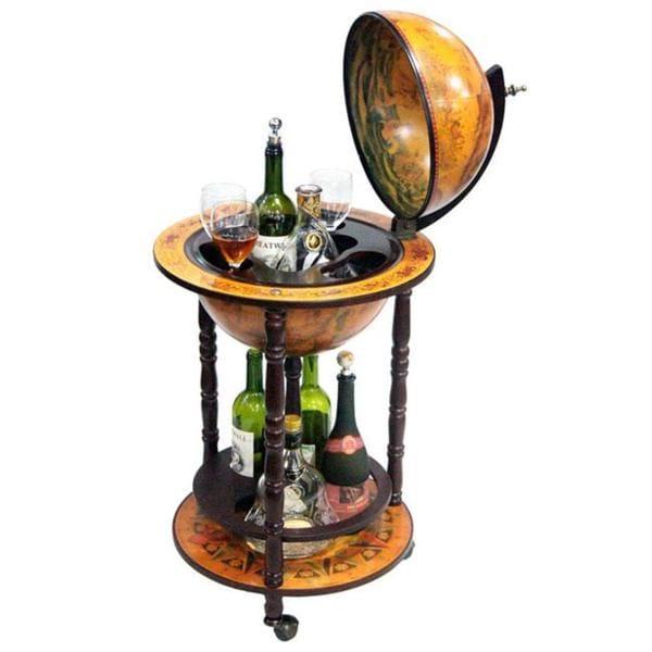 Merske Globes 13-inch Replica Italian Globe Bar