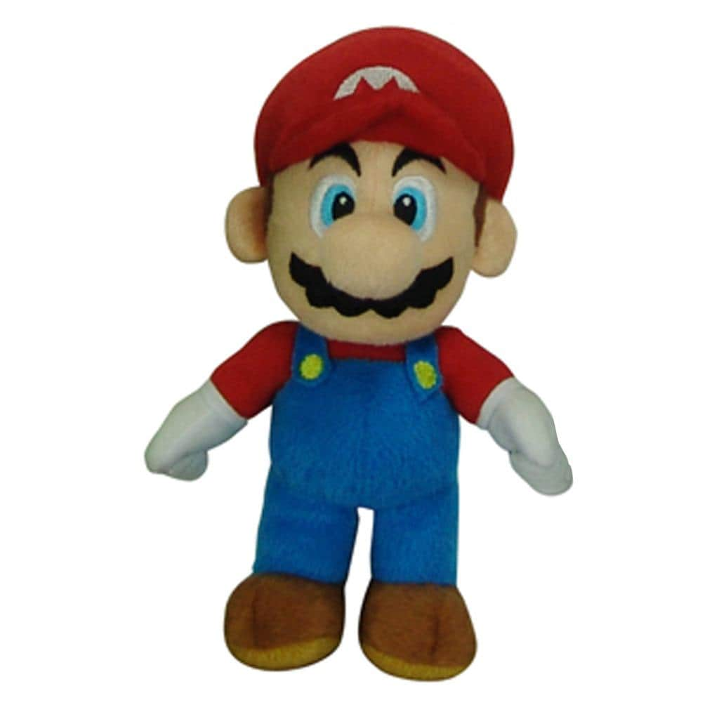 Super Mario Brothers Mario 9-inch Plush Collectible Stuffed Toy