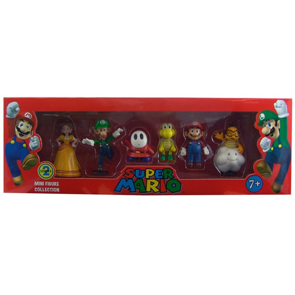 Super Mario Brothers Nintendo Series 2 Figurine Set with Collectibles