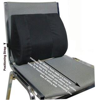 Current Solutions Seat Back Elastic Strap Lumbar Cushion