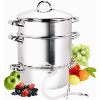 Cook N Home 11 Quart Juicer Steamer Stainless