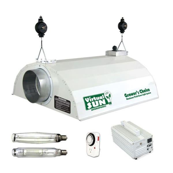 Shop Virtual Sun 1000-watt Magnetic Ballast Grow Light Kit