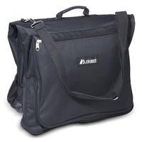 Everest Black 44-inch 600-denier Polyester Convenient Garment Bag